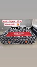 Título do anúncio: Cama Super King Promoção de Molas Super Macia Entrega grátis no mesmo dia
