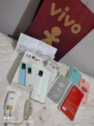 Smartphone LG K62 plus 128 gb e 4 ram com garantia