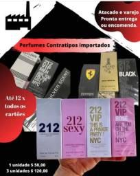 Perfumes Contratipos Importados alta qualidade.