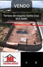 Terreno 853,56M² Santa Cruz