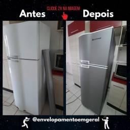 Envelopamento geladeira/bebedouro/outros