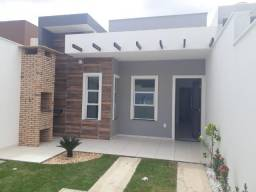 SI - Casa nova 3 quartos, 2 banheiros, próx a Av Jorge Figueiredo