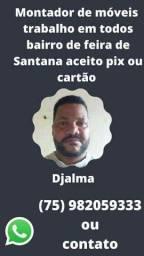 Título do anúncio: Montador região de feira de Santana