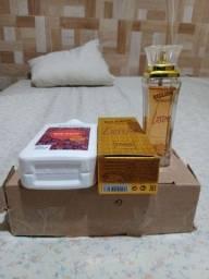 Título do anúncio: Perfume Billion Woman Love e Hidratante Hidramais Goji Berry