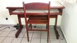 Mesa para Escritório em madeira Ipê