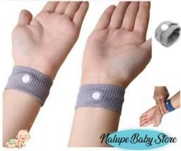 Pulseira anti enjoo, ótima para gravidas, doentes em tratamento e crianças