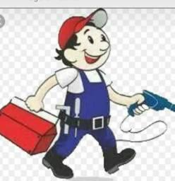 Pedreiro profissional./ capitéis o pintor encanador