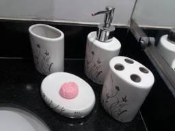 Kit de Pia para Banheiro Coza 4 Peças