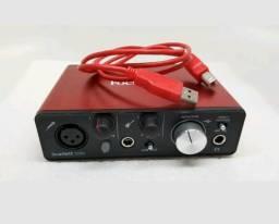 Interface de Audio Focusrite solo 2 geração