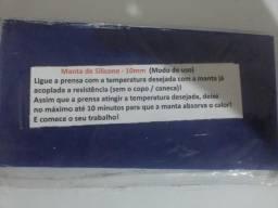 Manta De Silicone Para Prensa De Canecas 20x10 Cm Nova