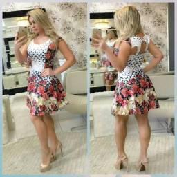 Vestido feminino Suplex digital somente atacado