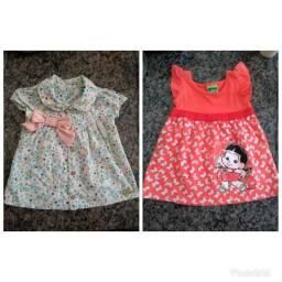 Vendo vestido infantil 15 cada um! facilito no t3 e t4