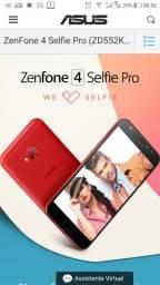 Zenfone 4 selfie pro 4GB de RAM e 64 GB de memoria