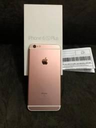 Vendo iPhone 6s Plus 16g, sem marcas de uso com todos os acessórios, e com nota fiscal