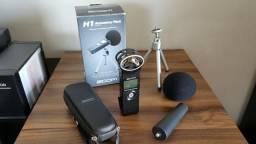 Gravador Zoom H1 Handy Recorder / Com Assessórios