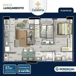 Edificio Calabria novo lançamento no bairro Goiabeiras