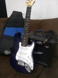 Guitarra Austin + Amplificador Gt-15