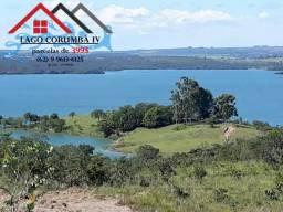 Terrenos planos com vista para o Lago Corumbá IV