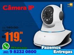 Câmera IP Robozinho Full Hd 1080p WIFI baba Eletrônica - Fazemos Entregas
