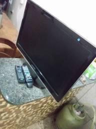 Tv LED 24 polegadas mas converso digital