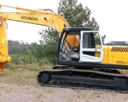 Escavadeira Hyundai 210 Ano 2011 13.000 Hrs / Motor Novo Feito