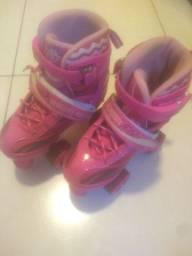 Patins Roller Skate Rosa