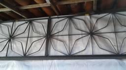 Grade de Ferro estilo borboleta