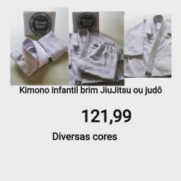 Kimonos Tamanhos infantis M1,M2,M3,M4 Produtos novos e embalados