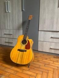 Violão Fender CD220CE all dao nat