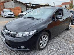 Honda Civic EXS - Automático Completo - 2012/2013 / Aceito Troca