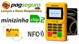 Minizinha PagSeguro e Maquininhas do Mercado Pago
