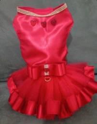 Vestido pet natal