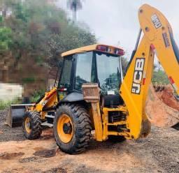 Retro Escavadeira Jcb Ano 2013 6.000 Horas