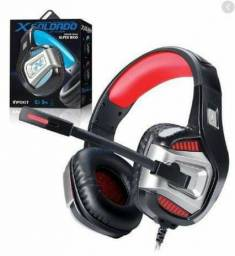 Fone de Ouvido Headset Gamer X Soldado GH-X1800