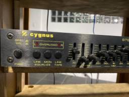 Equalizador cygnus ge 400 das antigas impecavel para colecionadores