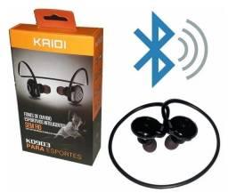 Fone De Ouvido Bluetooth Esportivos Inteligentes - Kaidi KD903