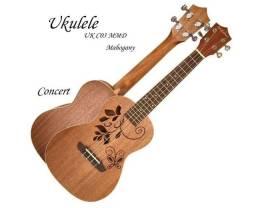 Andaluz Ukulele Concert Acústico Ukc03 Mm D Fosco Mahogany