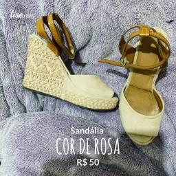 Sandália Cor de Rosa