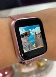 ???SUPER PROMOÇÃO??? Black Friday Relógio Smartwatch P80 À Prova d'agua