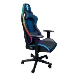 Cadeira Gamer RGB CHROMA C/Apoio Cervical - CH07BKRGB - ELG