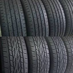 ?pneus semi novos 255/60-18 continental