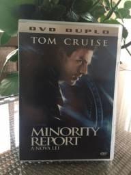 DVD original do filme Minority Report - a nova lei