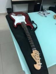 Guitarra Memphis by Tagima com acessórios