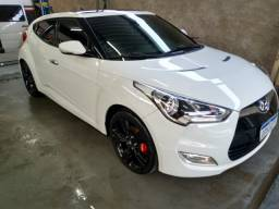 Hyundai Veloster Branco 1.6 Top troca