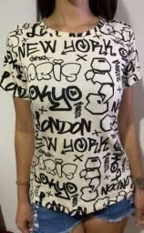 camisa T-shirt Pixação