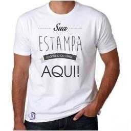 Camisa | Camiseta | T-shirt | PERSONALIZADAS! | Malha de ótima qualidade
