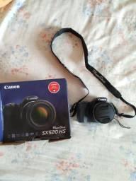 Câmera Canon sx520 superzoom