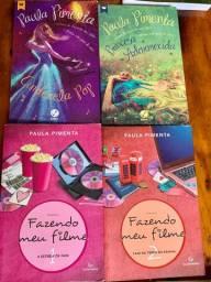 Lote com 17 livros - Paula Pimenta - Nicholas Sparks - Garota On Line