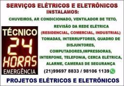 Eletricista emergência 24 horas