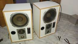 Caixas de som + Amplificador